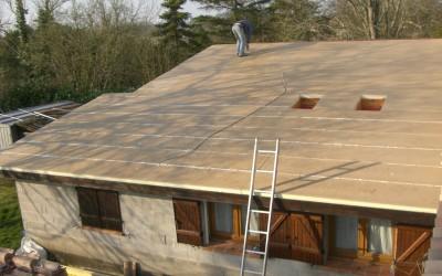 Isolation toiture par l'extérieur : SARKING