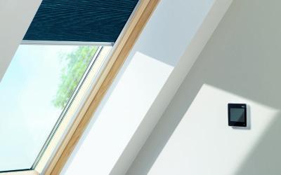 VELUX, Fenêtre électrique, Fenêtre à rotation, Fenêtre à projection