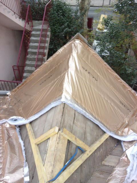 Rénovation complète d'une toiture à Toulouse