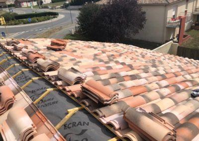 Rénovation d'une toiture à castelnau destretefonds 31