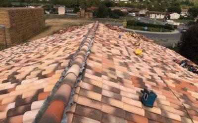 Rénovation d'une toiture à Castelnau d'Estretefonds 31