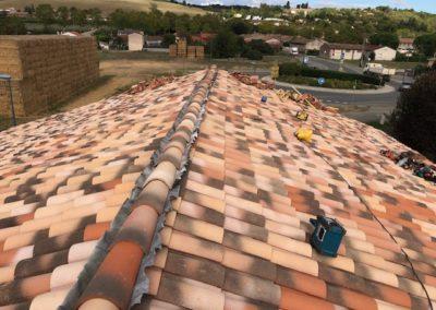 Rénovation d'une toiture à castelnau d estretefonds 31